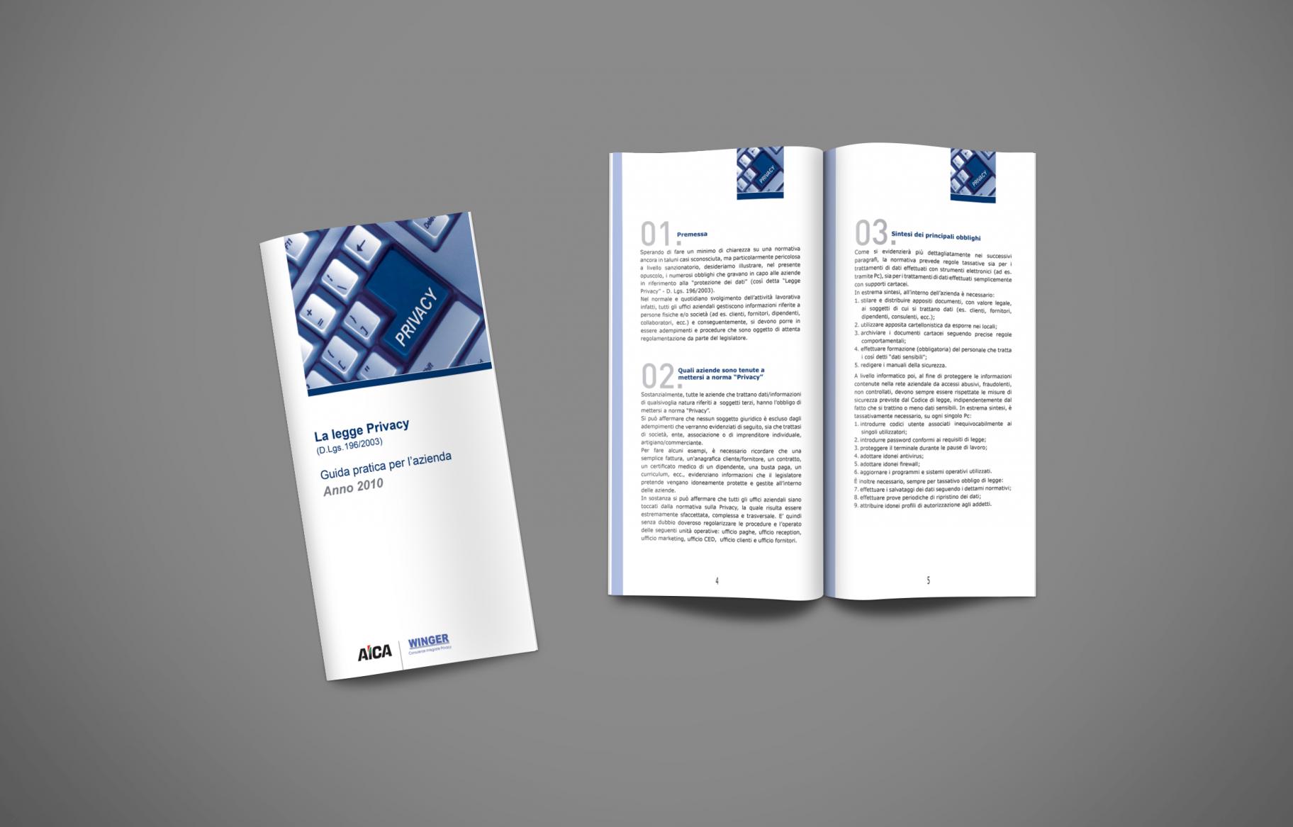 AICA-La Legge PRIVACY-Brochure