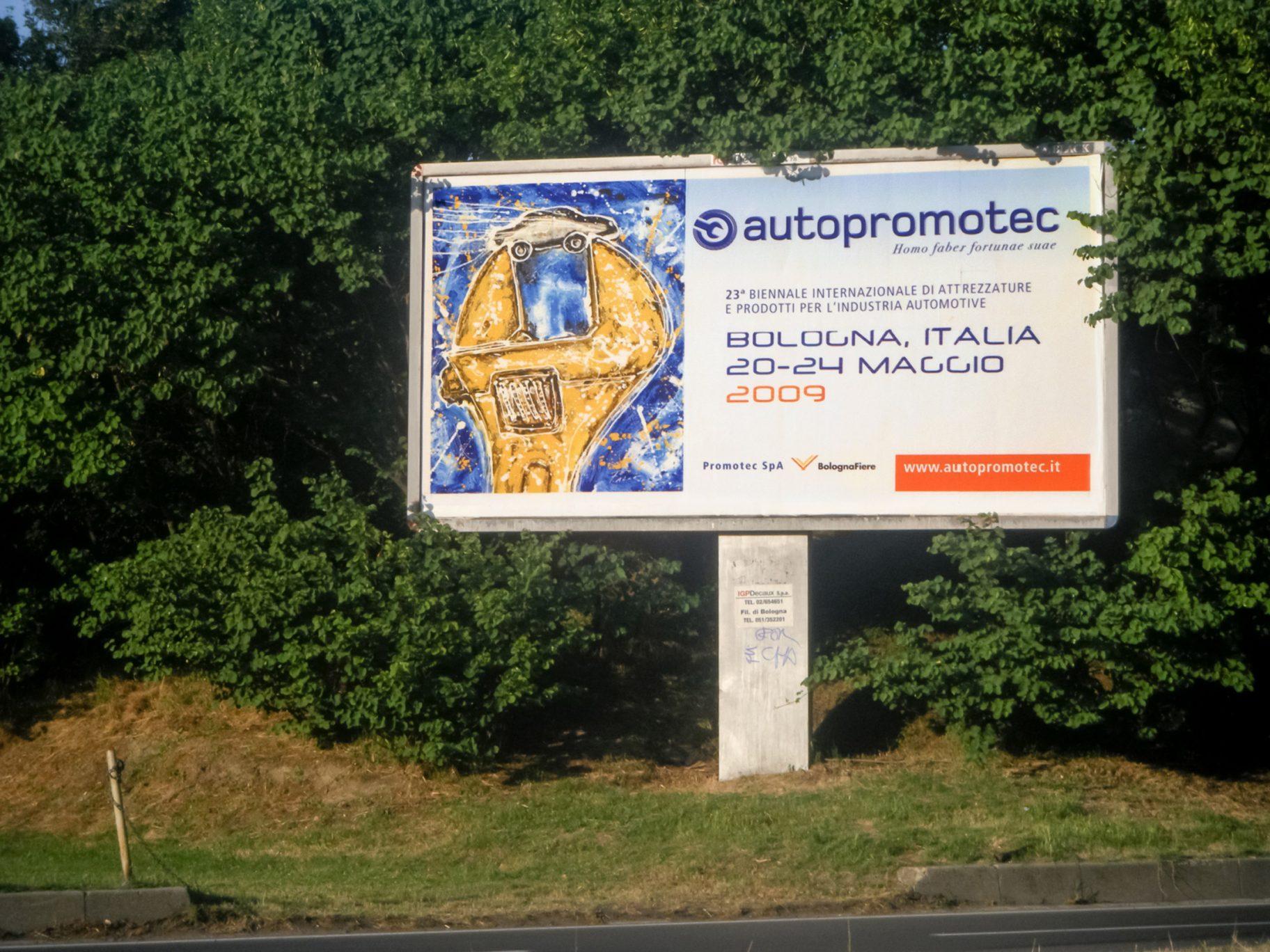 Autopromotec-fiera-2009-cartello
