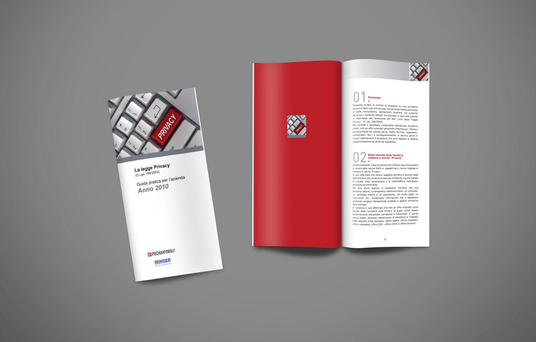 federpneus-La Legge PRIVACY-Brochure