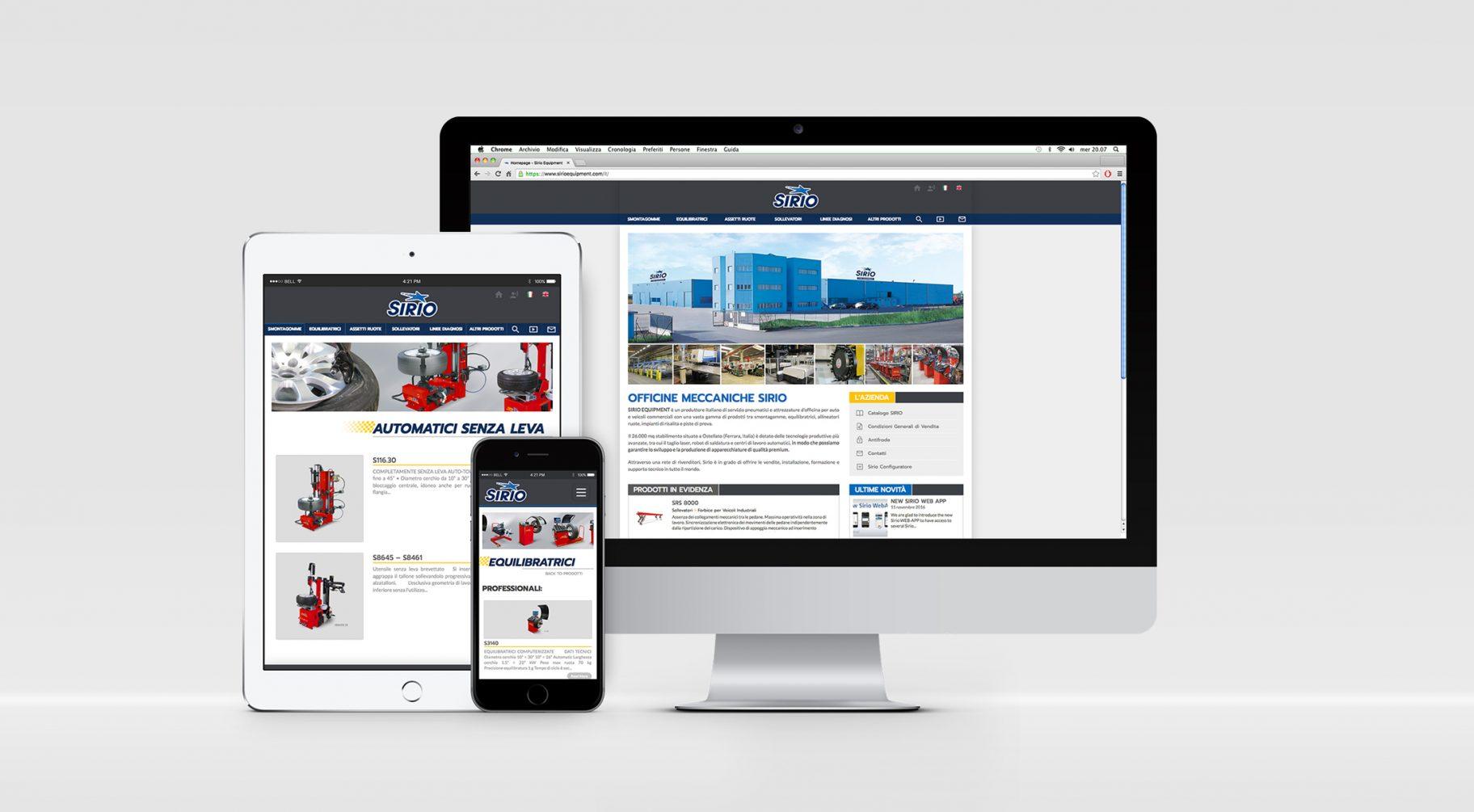 sirio-website-presentation