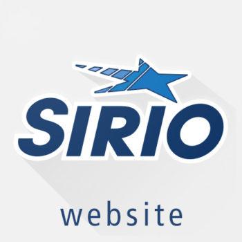 Sirio website Sito copertina
