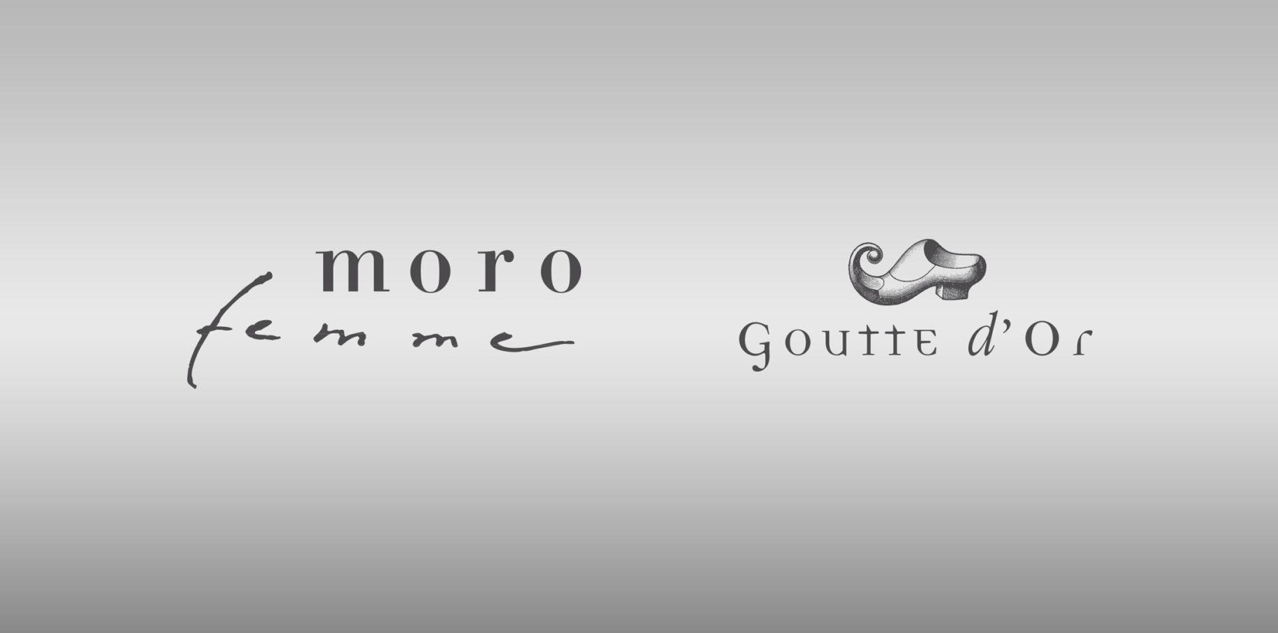 MORO e Goutte d'Or-logo
