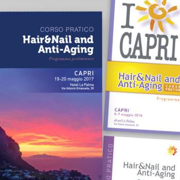 Capri Hair&Nail and Anti-Aging immagine coordinata copertina